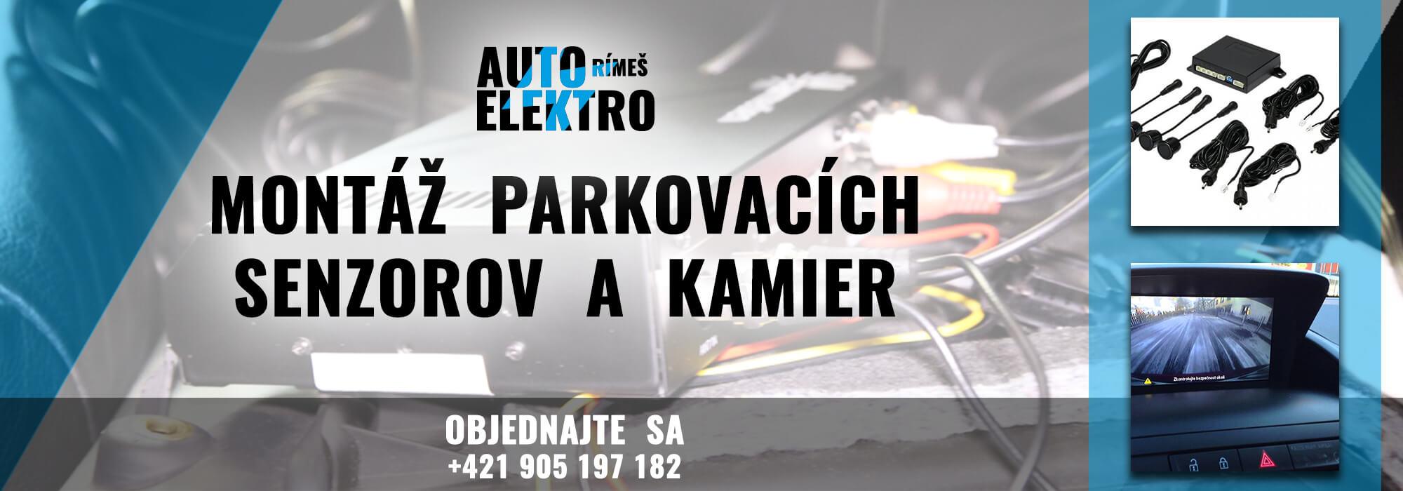 AER 2000×700 montaz parkovacich senzorov a kamier